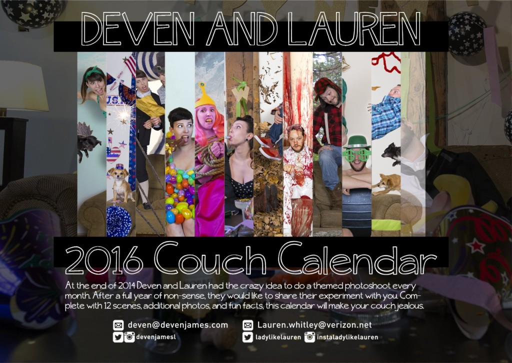 deven and lauren couch calendar 2015